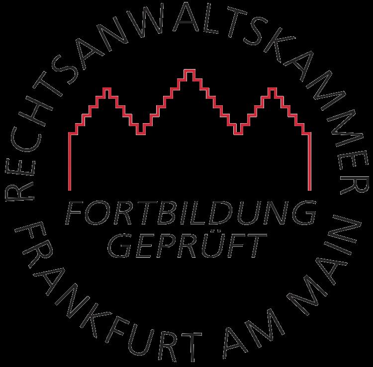 Fachanwalt für Steuerrecht Rechtsanwaltskammer Frankfurt