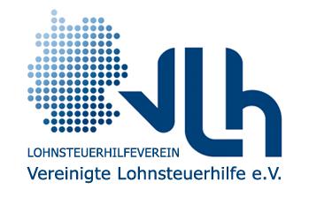 Logo VLH Vereinigte Lohnsteuerhilfe e.V. Frankfurt